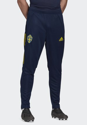 SWEDEN SVFF TRAINING PANT - Koszulka reprezentacji - blue