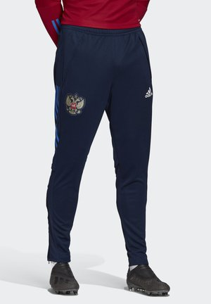 RUSSIA TRAINING TRACKSUIT BOTTOMS - Trousers - blue