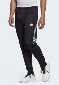 adidas Performance - CONDIVO TRAINING TRACKSUIT BOTTOMS - Tracksuit bottoms - black - 0