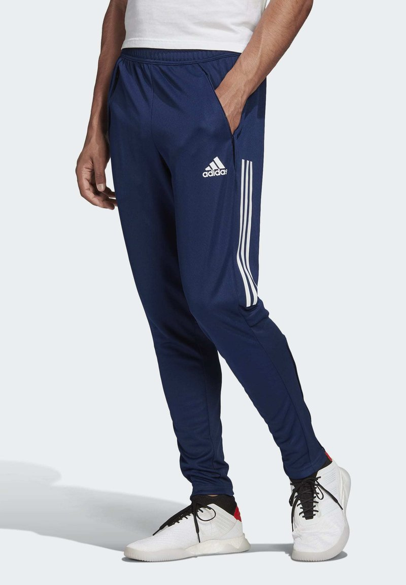 adidas Performance - CONDIVO 20 TRAINING TRACKSUIT BOTTOMS - Tracksuit bottoms - blue