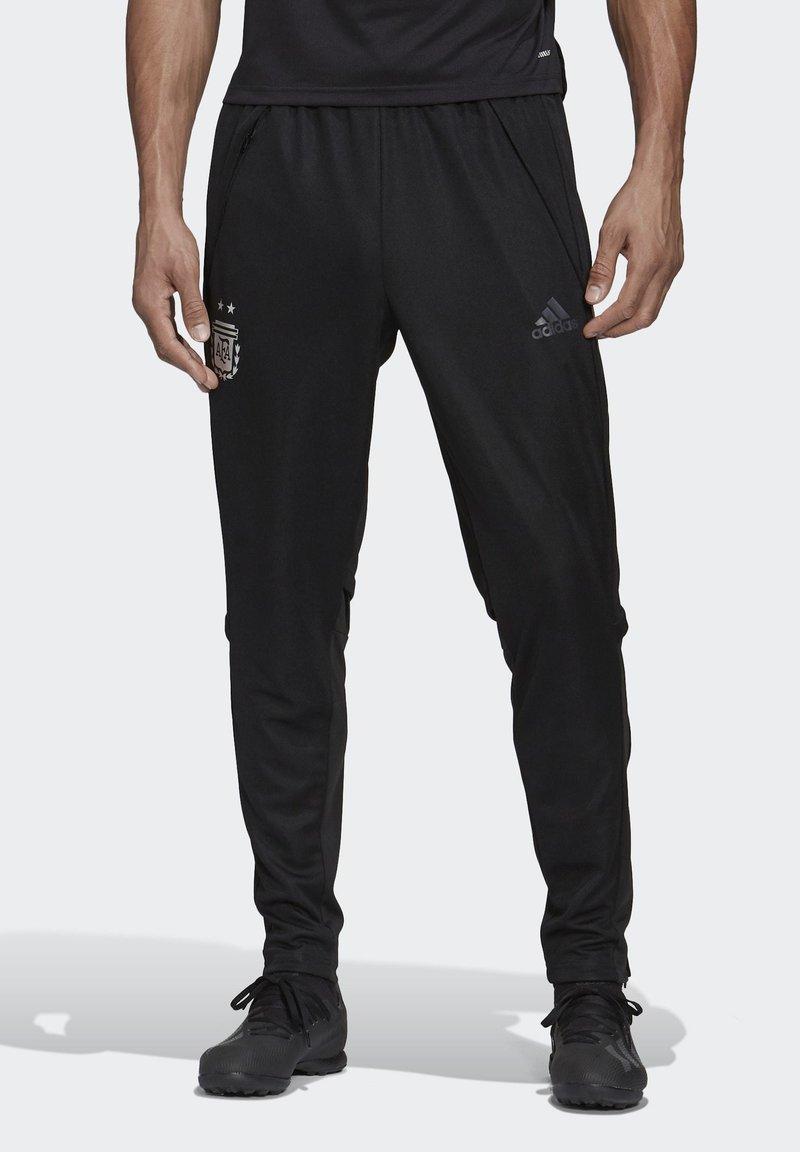 adidas Performance - ARGENTINA TRAINING TRACKSUIT BOTTOMS - Voetbalshirt - Land - black