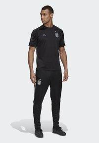 adidas Performance - ARGENTINA TRAINING TRACKSUIT BOTTOMS - Voetbalshirt - Land - black - 1