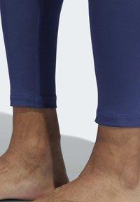 adidas Performance - ALPHASKIN SPORT LONG TIGHTS - Tights - tech indigo - 5