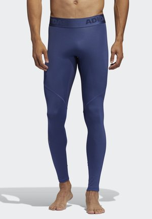 ALPHASKIN SPORT LONG TIGHTS - Tights - tech indigo