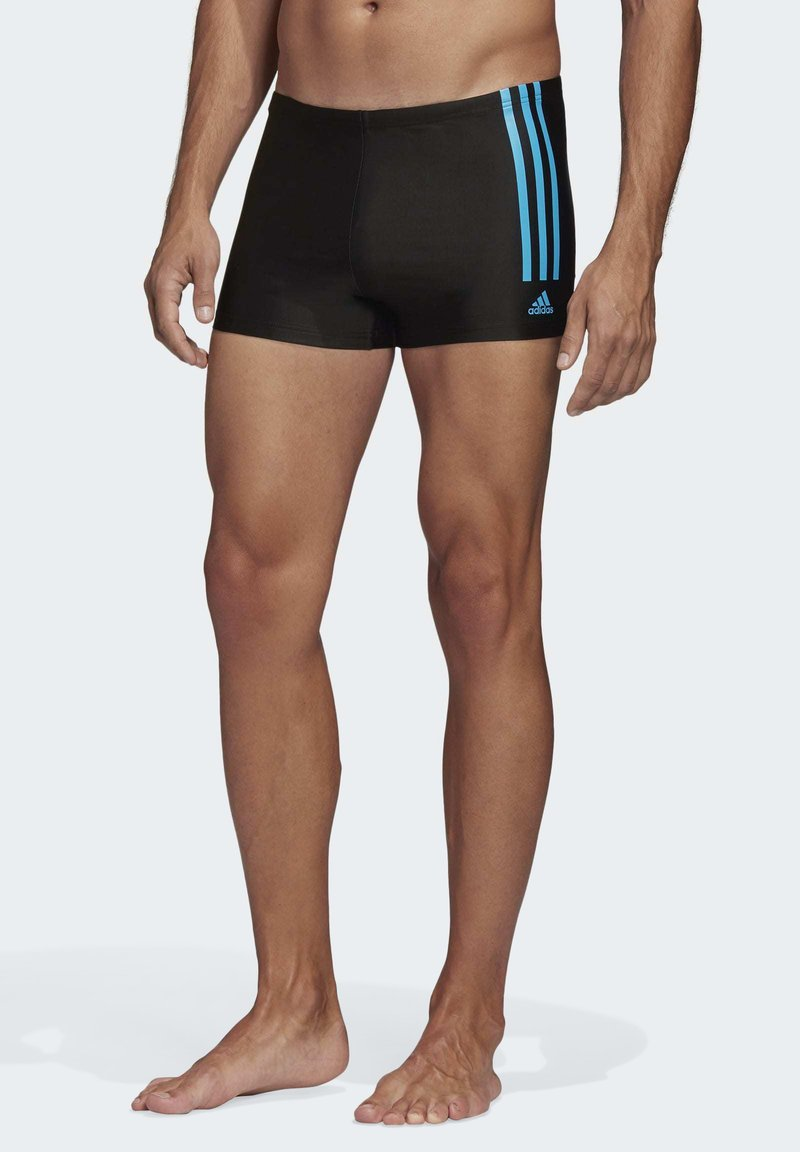adidas Performance - STRIPES SWIM BRIEFS - Zwemshorts - black
