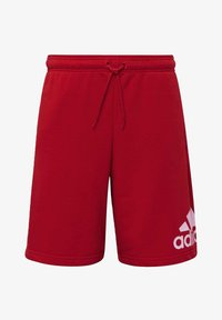 adidas Performance - MUST HAVES BADGE OF SPORT SHORTS - Sports shorts - red - 7