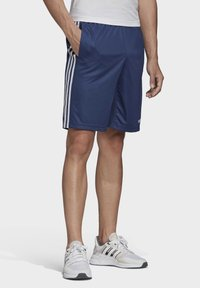 adidas Performance - DESIGN 2 MOVE CLIMACOOL 3-STRIPES SHORTS - kurze Sporthose - blue/white - 3