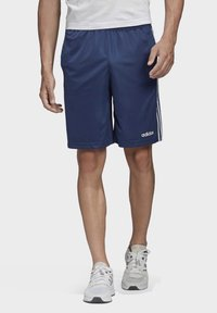 adidas Performance - DESIGN 2 MOVE CLIMACOOL 3-STRIPES SHORTS - kurze Sporthose - blue/white - 0