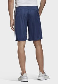 adidas Performance - DESIGN 2 MOVE CLIMACOOL 3-STRIPES SHORTS - kurze Sporthose - blue/white - 1