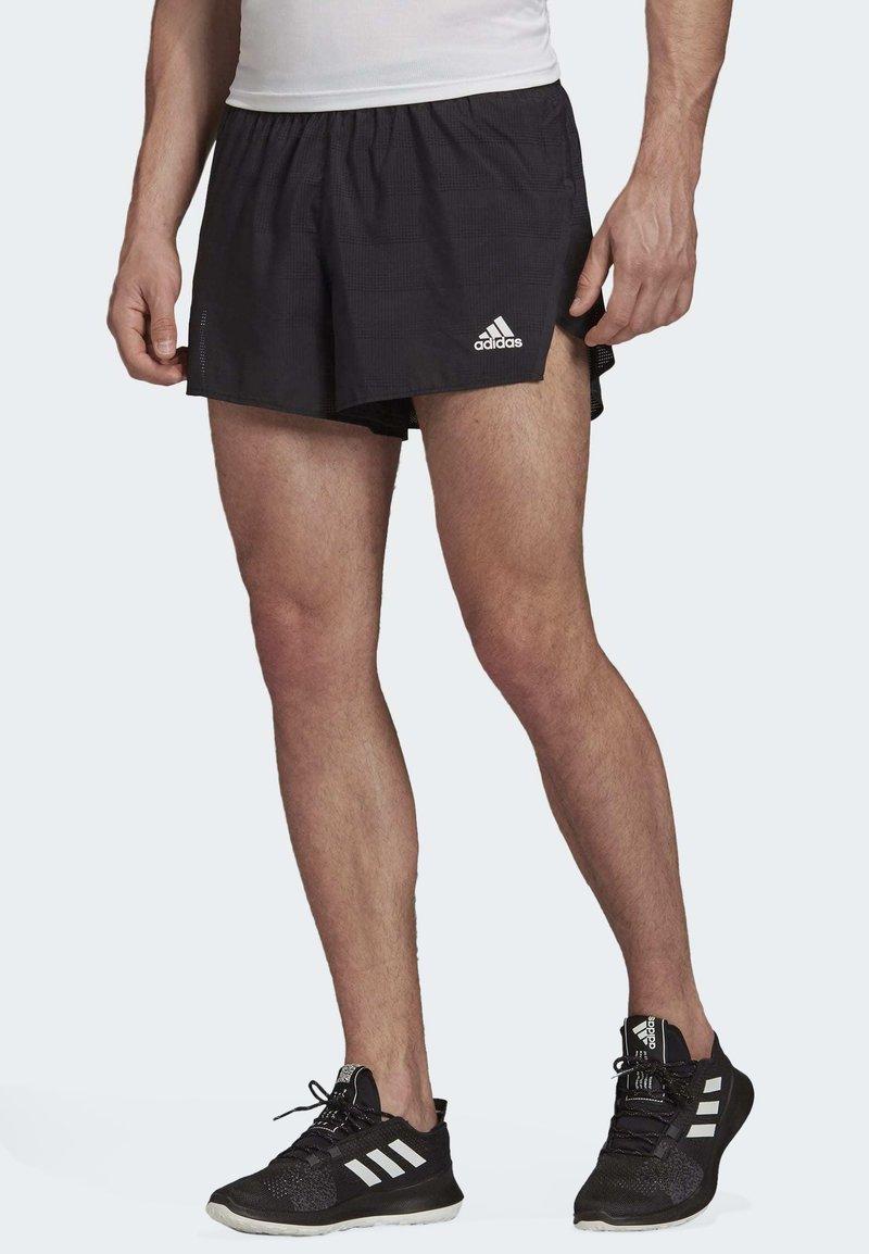 adidas Performance - SPEED SPLIT SHORTS - Sports shorts - black
