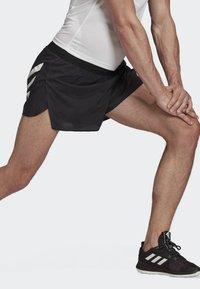 adidas Performance - SPEED SPLIT SHORTS - Sports shorts - black - 3