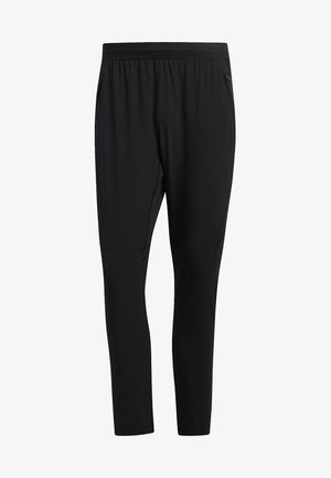 AEROREADY 3-STRIPES PANTS - Verryttelyhousut - black