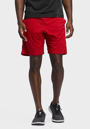 3-STRIPES 9-INCH SHORTS - Sports shorts - red
