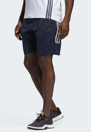 3-STRIPES 9-INCH SHORTS - Sports shorts - blue
