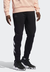 adidas Performance - HARDEN TRACKSUIT BOTTOMS - Jogginghose - black - 0