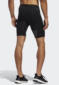 adidas Performance - OWN THE RUN SHORT TIGHTS - Träningsshorts - black - 1