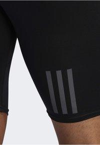 adidas Performance - OWN THE RUN SHORT TIGHTS - Träningsshorts - black - 4