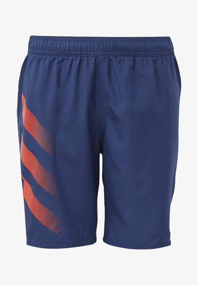 BOLD 3-STRIPES SWIM SHORTS - Zwemshorts - blue