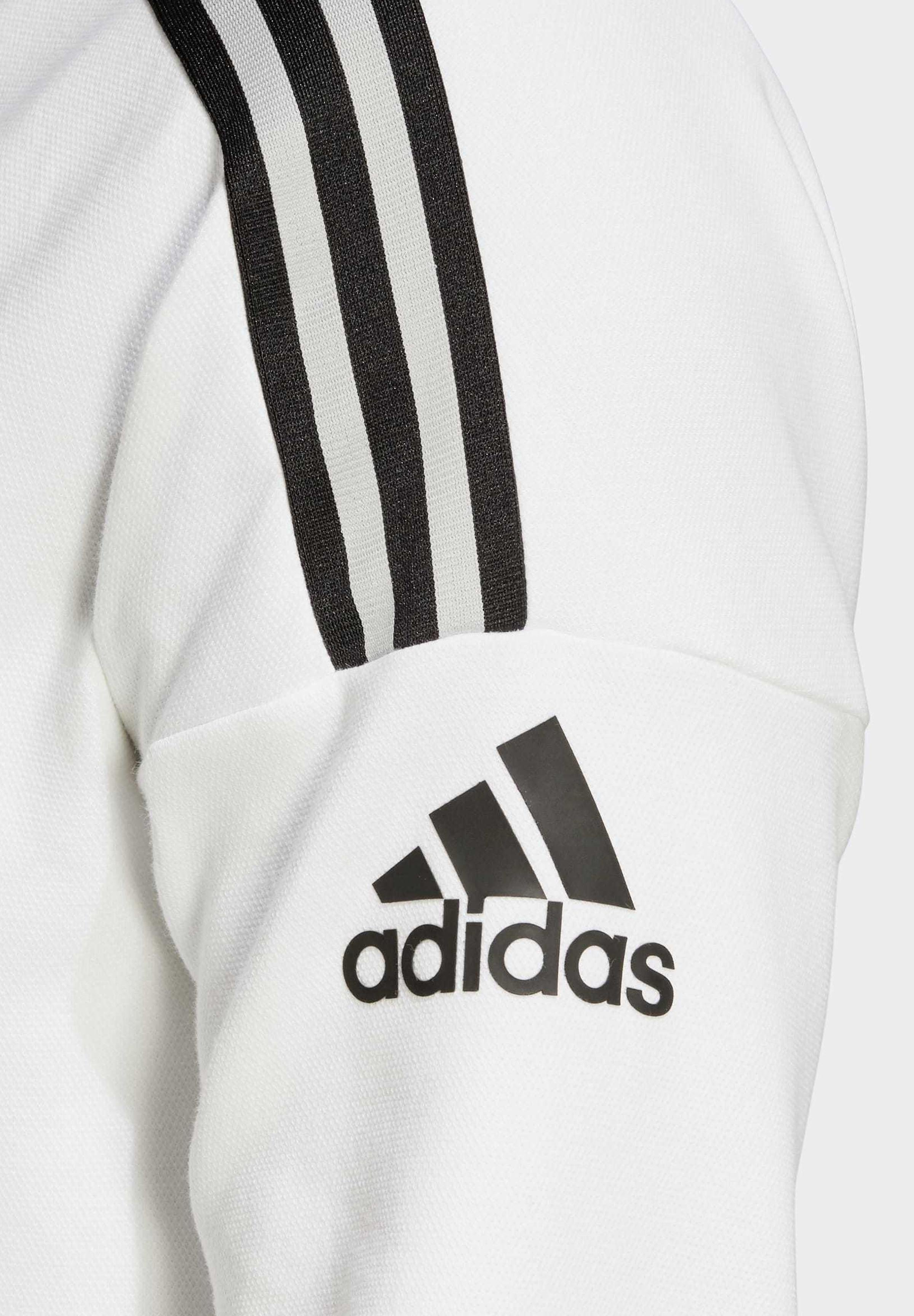 Adidas Performance Z.n.e. 3-stripes Hoodie - Met Rits White
