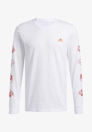 LIL STRIPE CANNONBALL T-SHIRT - Langærmede T-shirts - white