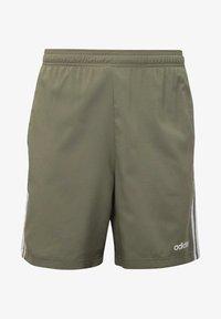 adidas Performance - ESSENTIALS 3-STRIPES CHELSEA SHORTS 7 INCH - Sports shorts - grey - 7