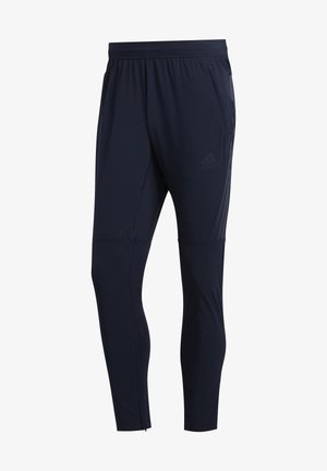 AEROREADY 3-STRIPES PANTS - Tracksuit bottoms - blue