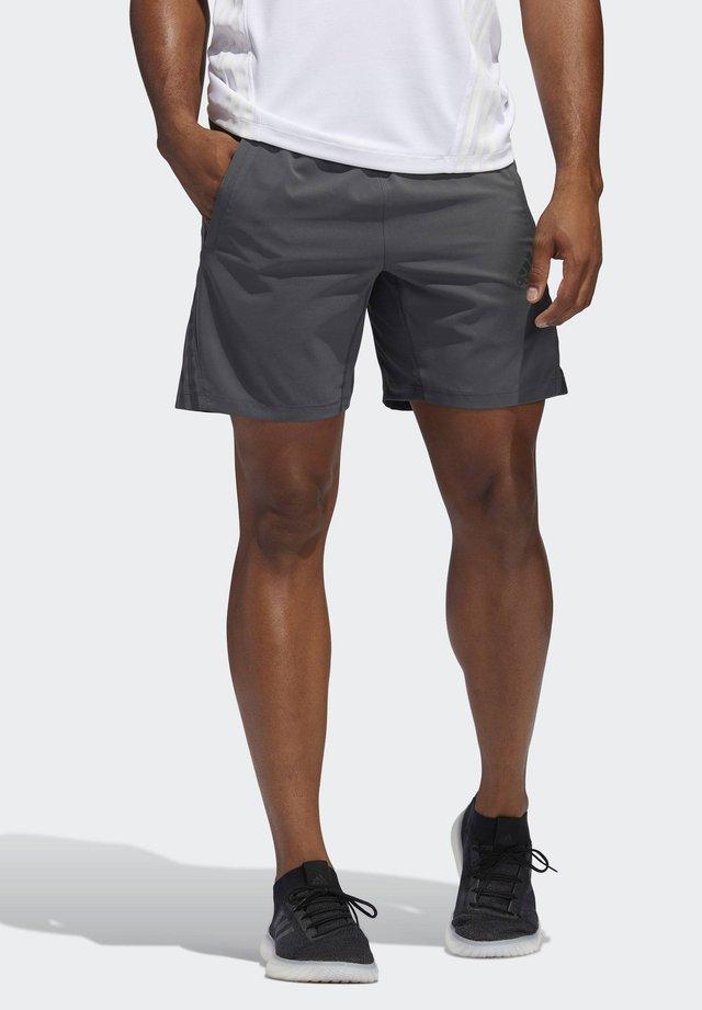 AEROREADY 3-STRIPES 8-INCH SHORTS - Pantaloncini sportivi - grey