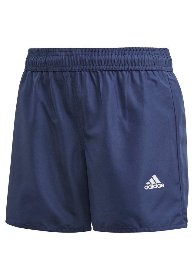 CLASSIC BADGE OF SPORT SWIM SHORTS - Swimming shorts - blue