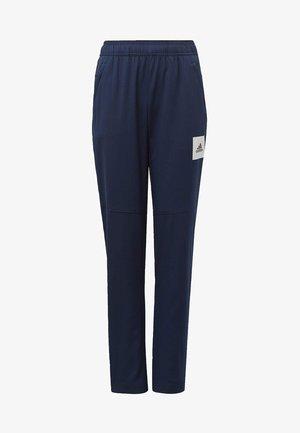 AEROREADY TAPERED JOGGERS - Pantaloni sportivi - blue