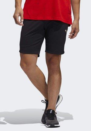 ADICROSS WARP KNIT SHORTS - kurze Sporthose - black