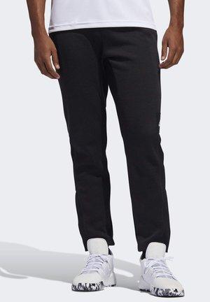 CROSS-UP 365 TRACKSUIT BOTTOMS - Spodnie treningowe - black