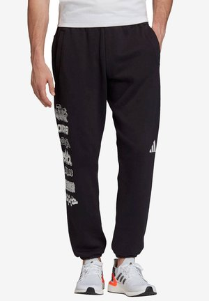 PACK GRFX PT - Tracksuit bottoms - black