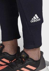 adidas Performance - VRCT TRACKSUIT BOTTOMS - Spodnie treningowe - blue - 5
