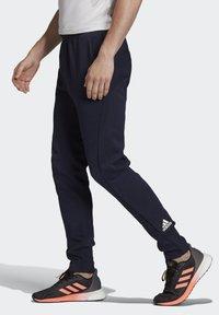 adidas Performance - VRCT TRACKSUIT BOTTOMS - Spodnie treningowe - blue - 3
