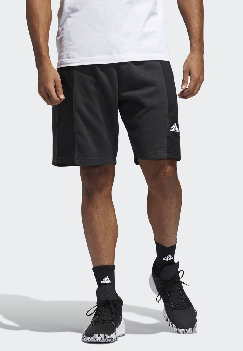 adidas Performance - CROSS-UP 365 SHORTS - Krótkie spodenki sportowe - grey/black