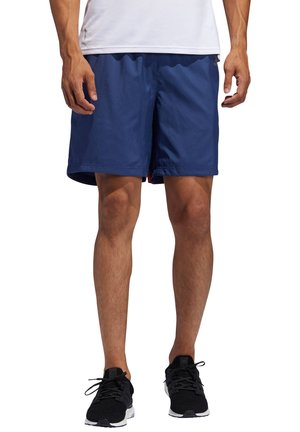 OWN THE RUN - Träningsshorts - blue/red