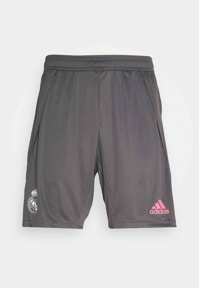 REAL MADRID AEROREADY FOOTBALL SHORTS - Korte broeken - grey
