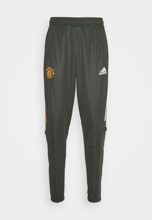 MANCHESTER UNITED AEROREADY FOOTBALL PANTS - Pantalones deportivos - olive