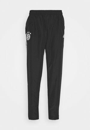 Pantalones deportivos - black/fcbtru