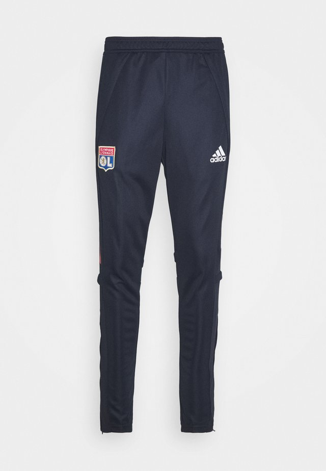 OLYMPIQUE LYON AEROREADY FOOTBALL PANTS - Pantalon de survêtement - legend ink