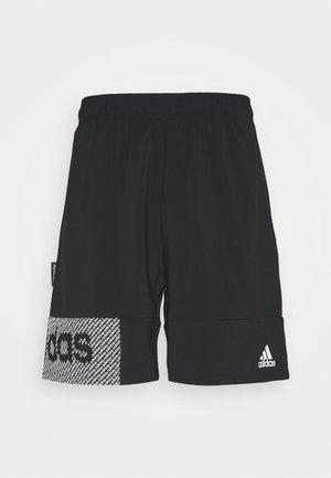AEROREADY TRAINING SHORTS - Sports shorts - black/white