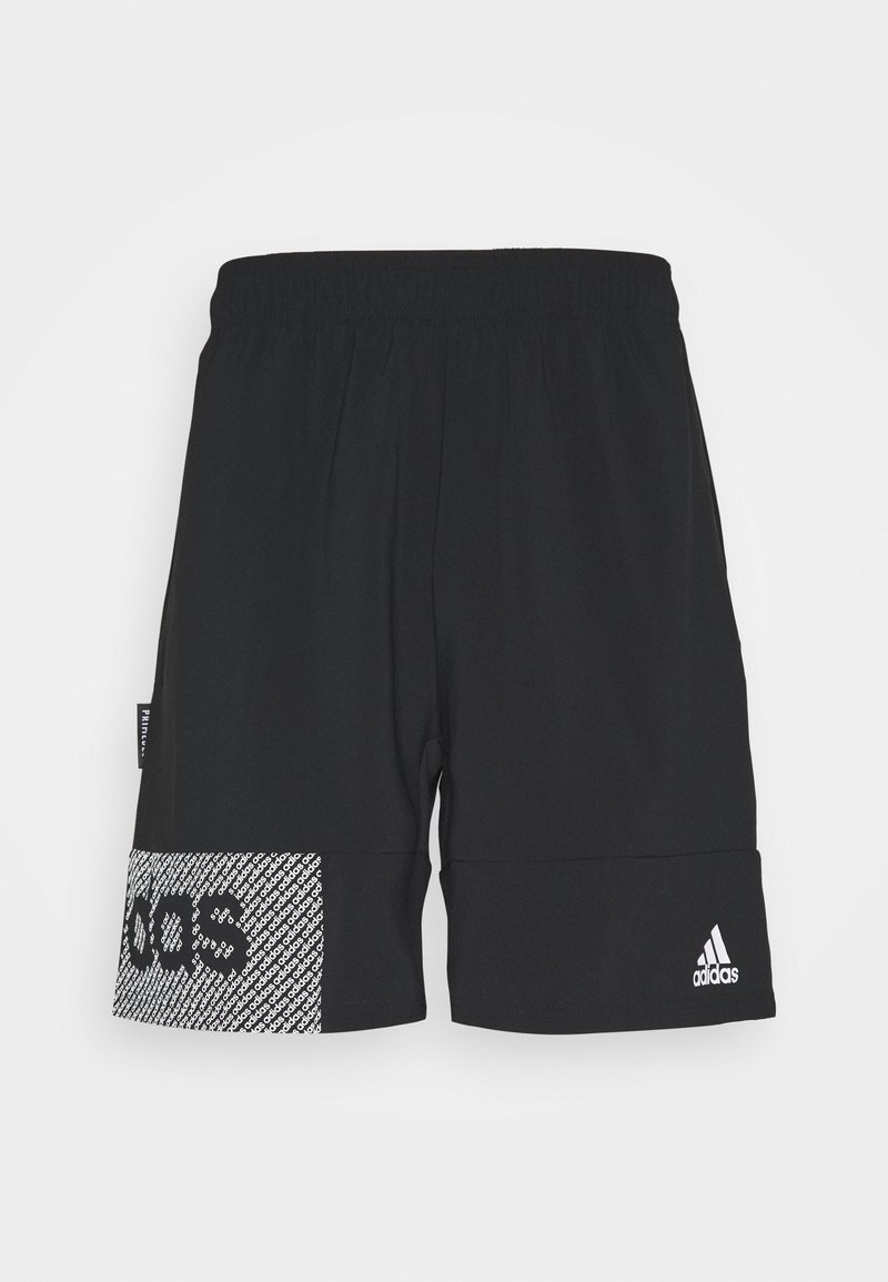 adidas Performance - AEROREADY TRAINING SHORTS - Pantaloncini sportivi - black/white