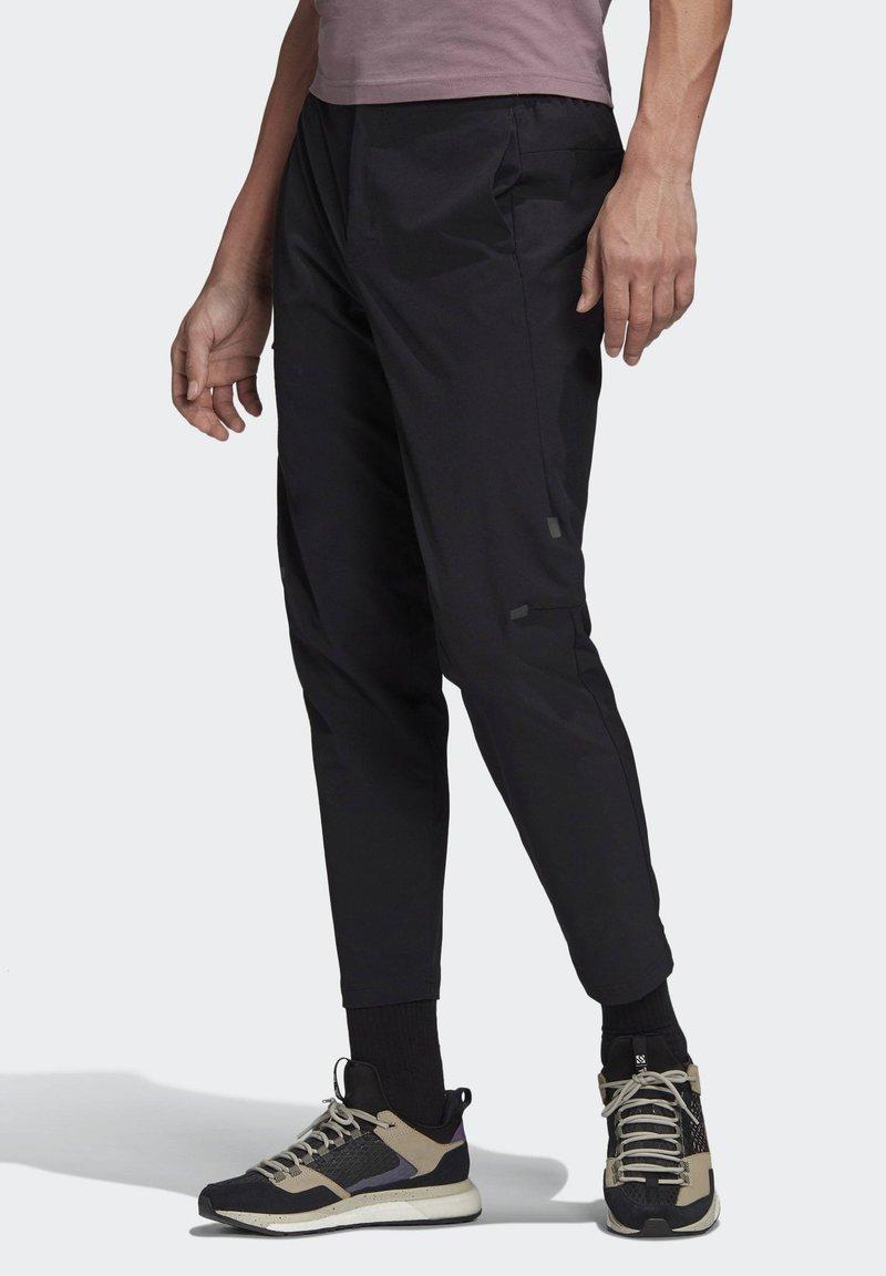 adidas Performance - TERREX CLIMB THE CITY TROUSERS - Trousers - black