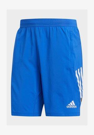 4KRFT 3-STRIPES 9-INCH SHORTS - Pantaloncini sportivi - blue