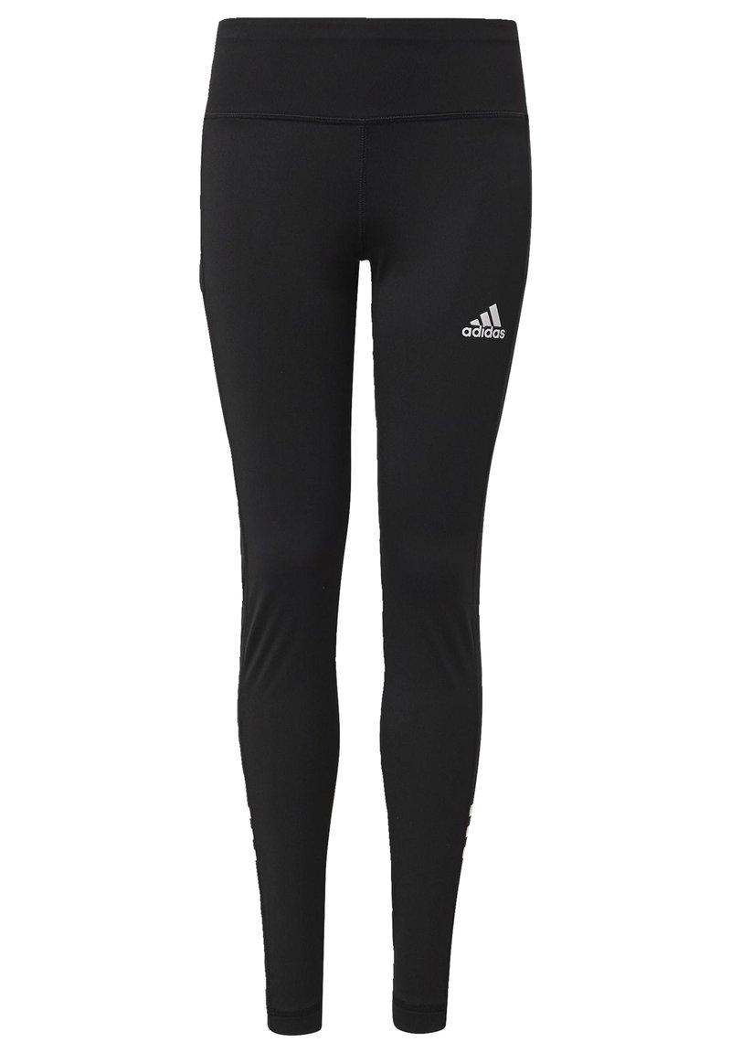 adidas Performance - BRANDED LEGGINGS - Collant - black