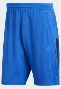adidas Performance - 3-STRIPES 9-INCH SHORTS - Sports shorts - blue - 10