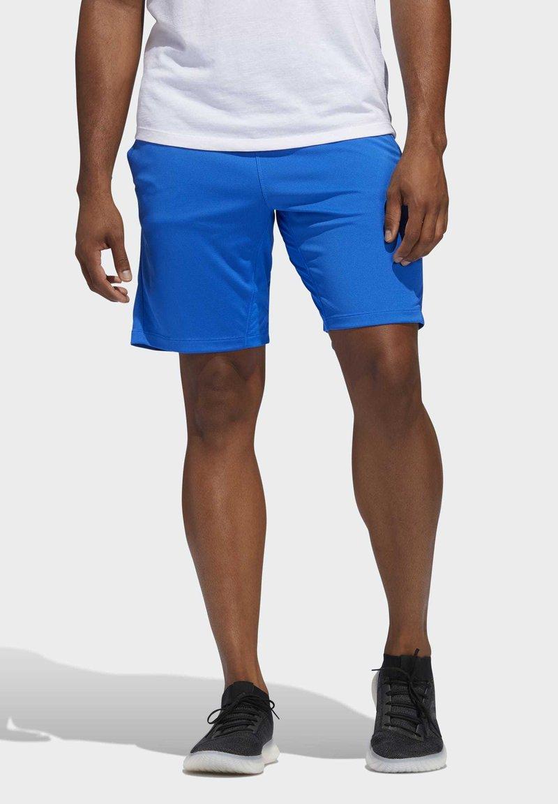 adidas Performance - 3-STRIPES 9-INCH SHORTS - Sports shorts - blue