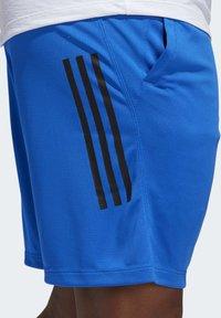 adidas Performance - 3-STRIPES 9-INCH SHORTS - Sports shorts - blue - 4