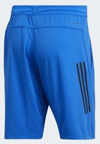 adidas Performance - 3-STRIPES 9-INCH SHORTS - Sports shorts - blue - 9