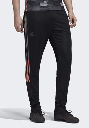 TAN TECH TRAINING TRACKSUIT BOTTOMS - Tracksuit bottoms - black